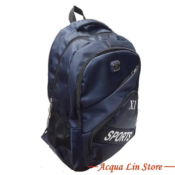 Unisex Sport Backpack, Blue Color