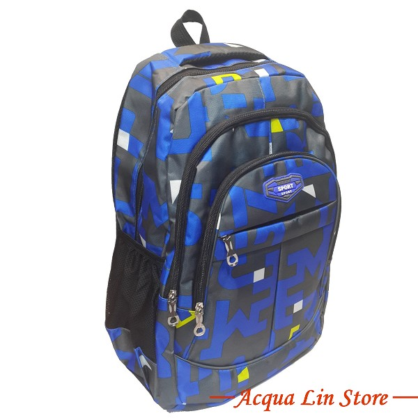 CT268 Sports Travel Leisure Backpack, Blue Color