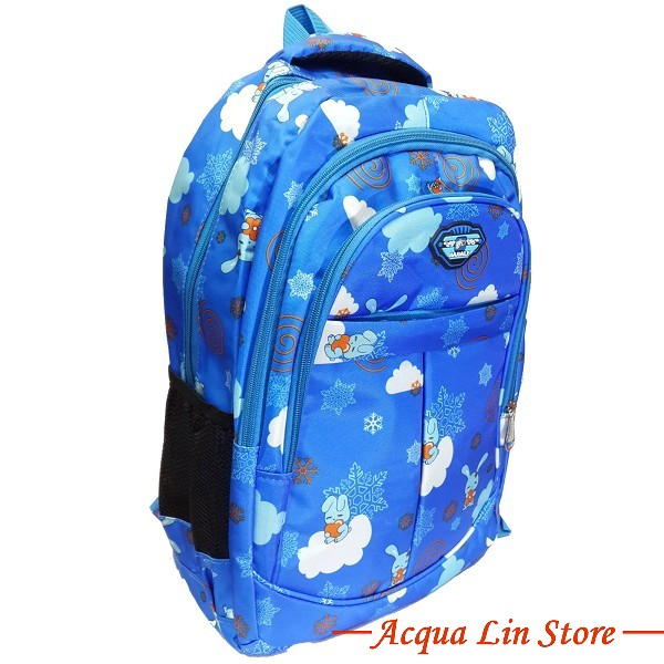 CT406 Sports Travel Leisure Backpack, Blue Color