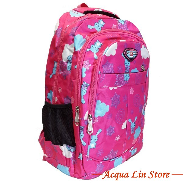 CT406 Sports Travel Leisure Backpack, Pink Color