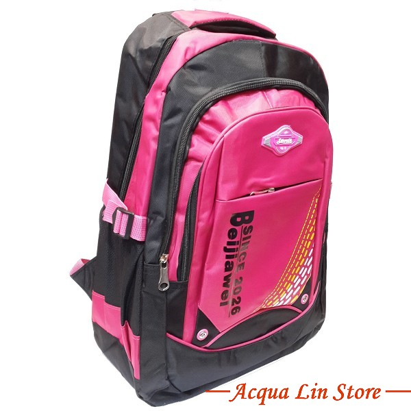 CT 8001 Sports Travel Leisure Backpack, Pink Color