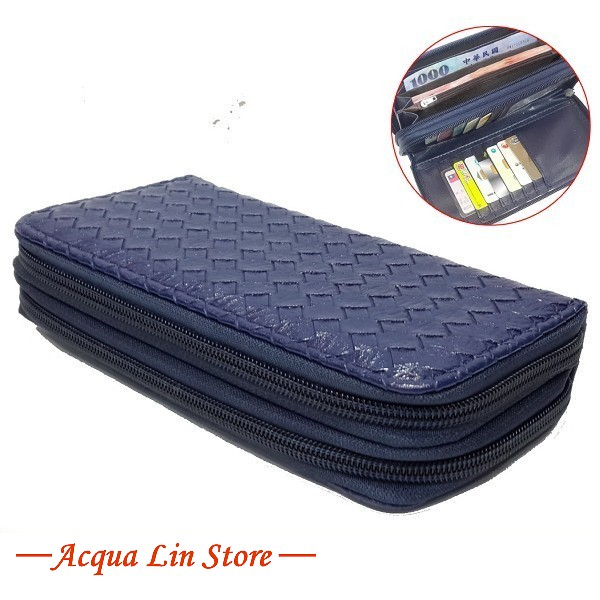 Women Dual Zipper Wallet, item 020_911