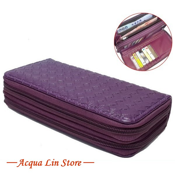 Women Dual Zipper Wallet, item 020_912
