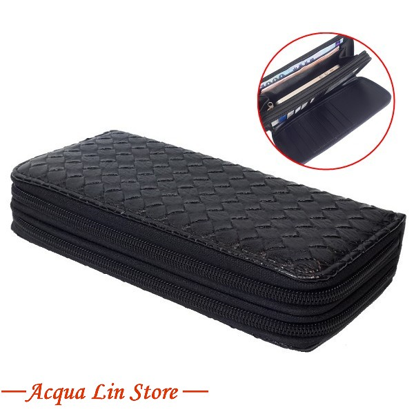 Women Dual Zipper Wallet, item 020_913