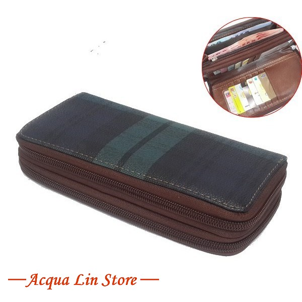 Women Dual Zipper Wallet, item 020_919