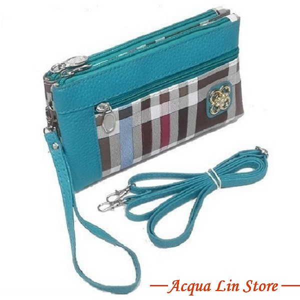 Clutch Bag #6745, Bluesky Color