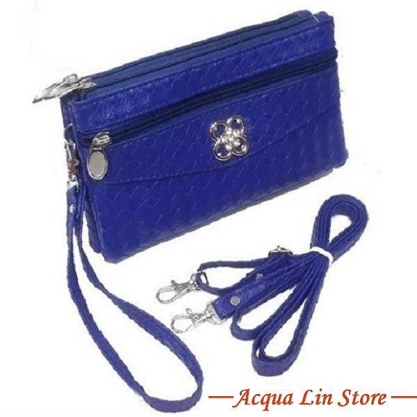 Clutch Bag #6780, Blue Color