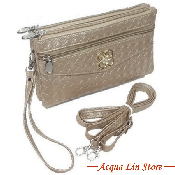 Clutch Bag #6780, Gold Color