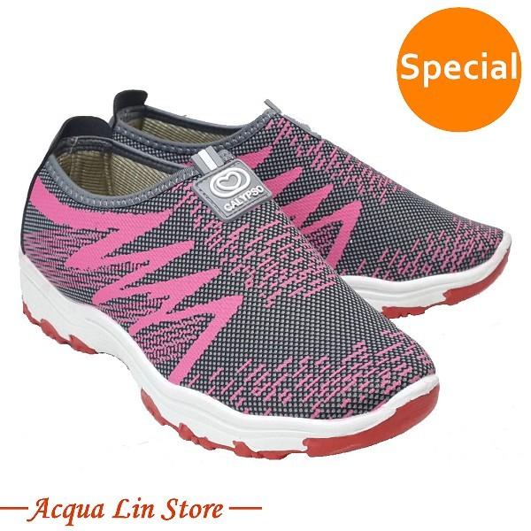 Women's flat sole casual shoes #A268 Gray