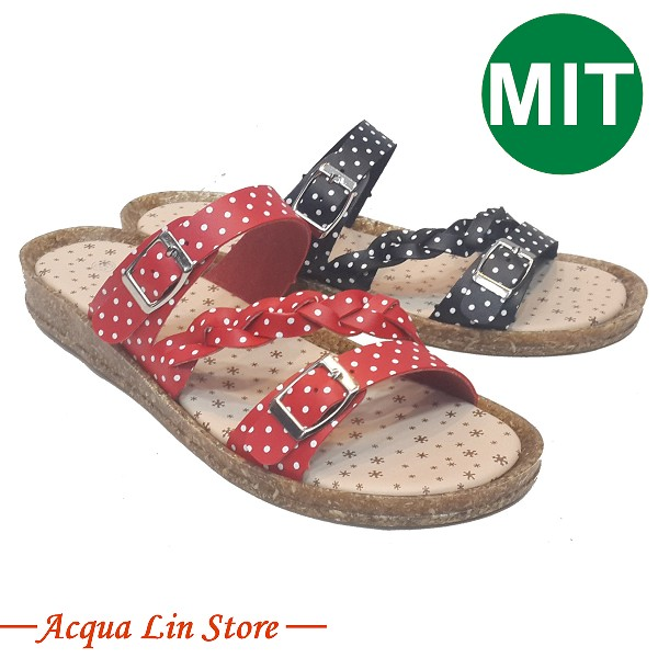 Ruby Sandal made in Taiwan, soft sole and comfortable to wear, quality approved, item 1435
