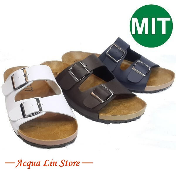 Y&D 652 男女二字居家休閒涼拖鞋 防滑鞋底 可調式鞋帶 適合各種腳型