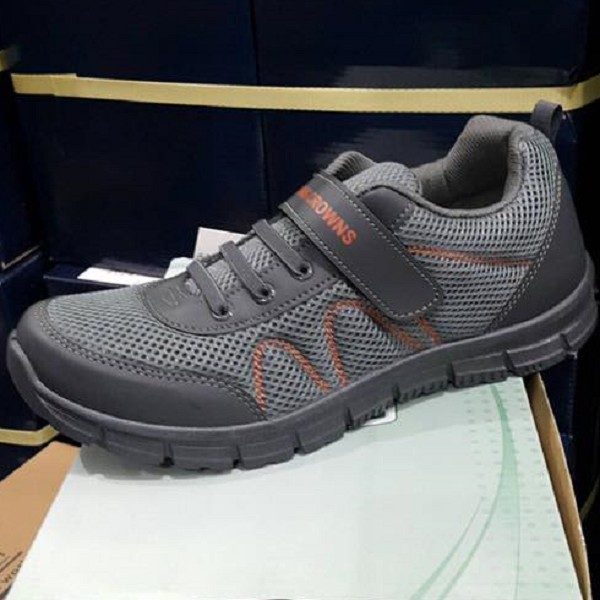 Rubber Shoe, item 6499GRAY, Made in Taiwan