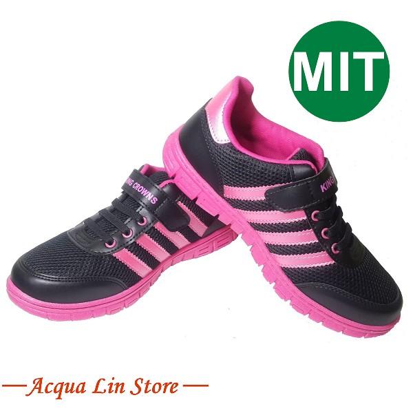 Women Sport Rubber Shoe, item 5233 color Black, Made in Taiwan