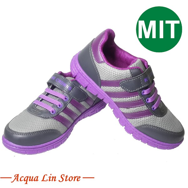 Women Sport Rubber Shoe, item 5233 color gray, Made in Taiwan