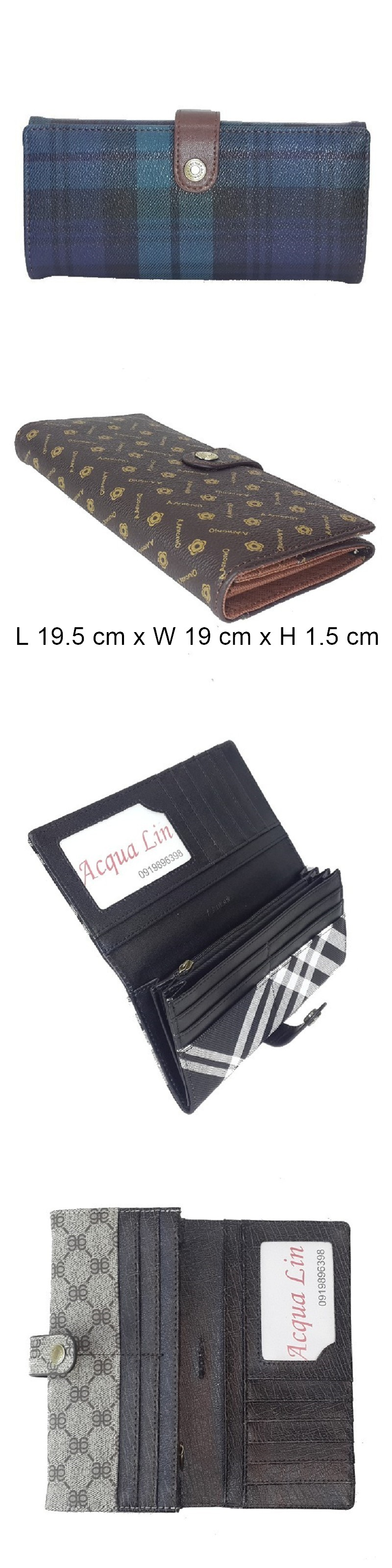 a.antonio  bi-fold wallet 080set1